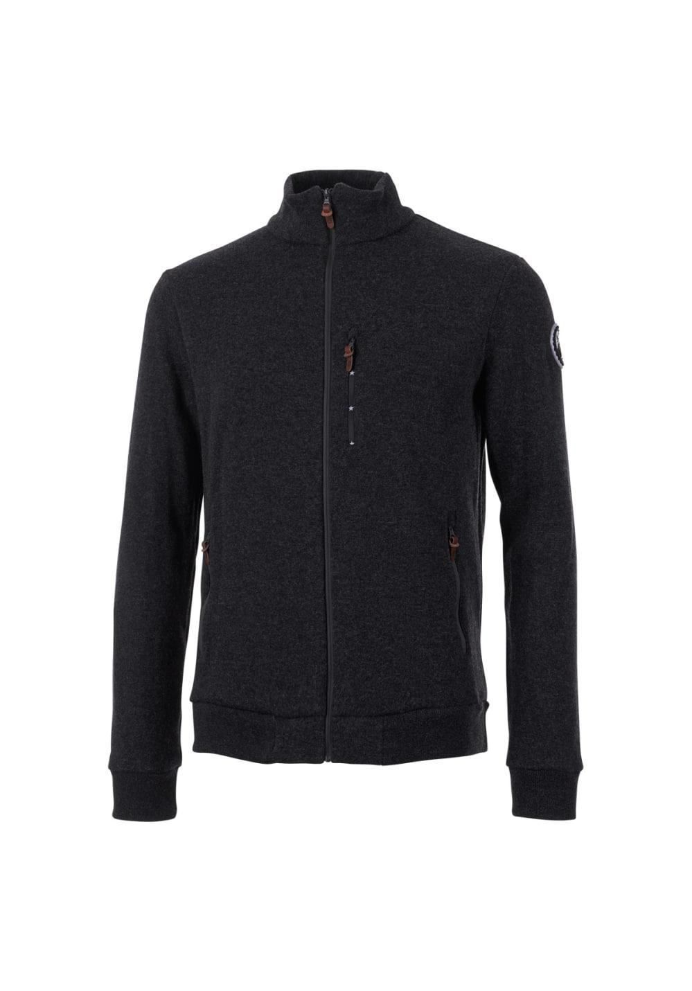 Maloja BradwoodM. Fleece Jacket - Freizeitbekleidung für Herren - Schwarz, Gr.