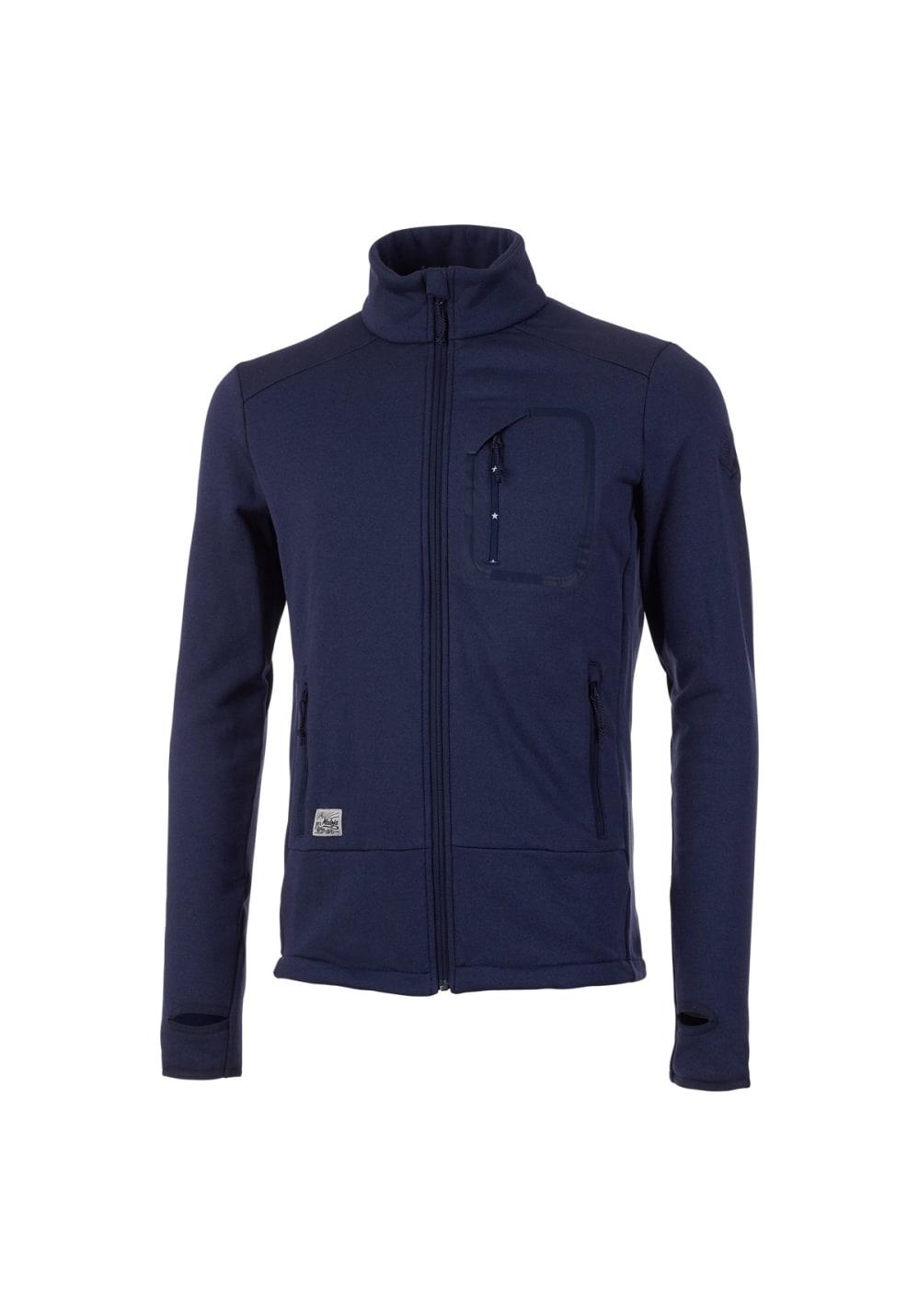 Maloja ForgartyM. Fleece Jacket - Freizeitbekleidung für Herren - Blau, Gr. S