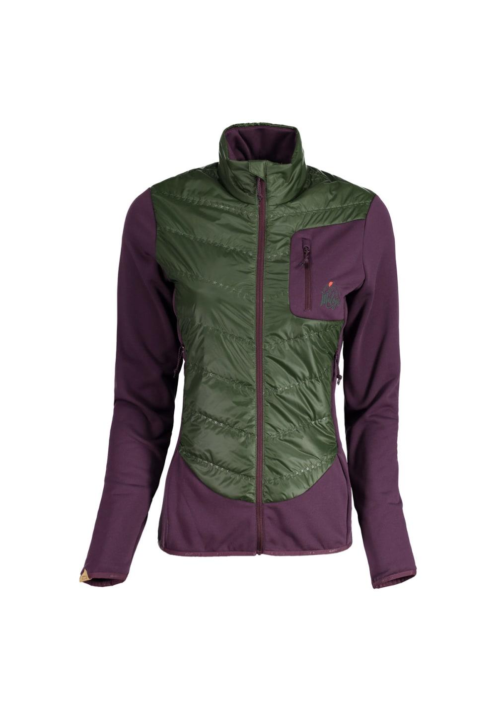 Maloja SiegsdorfM. Hybrid Jacket - Freizeitbekleidung für Damen - Lila, Gr. L