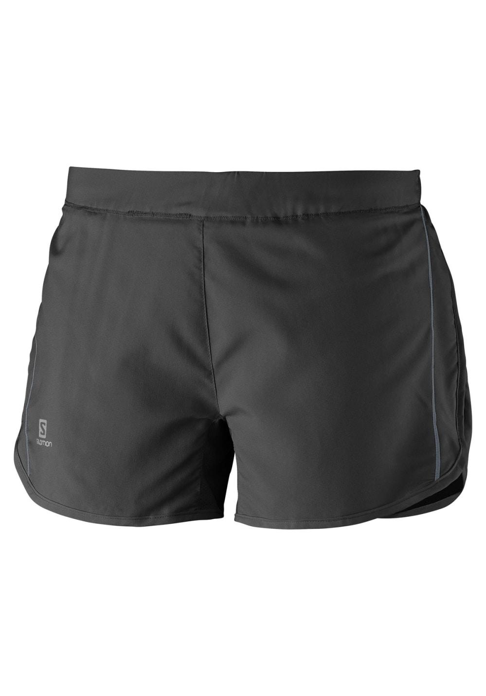 Salomon Agile Short - Laufhosen für Damen - Schwarz, Gr. XL