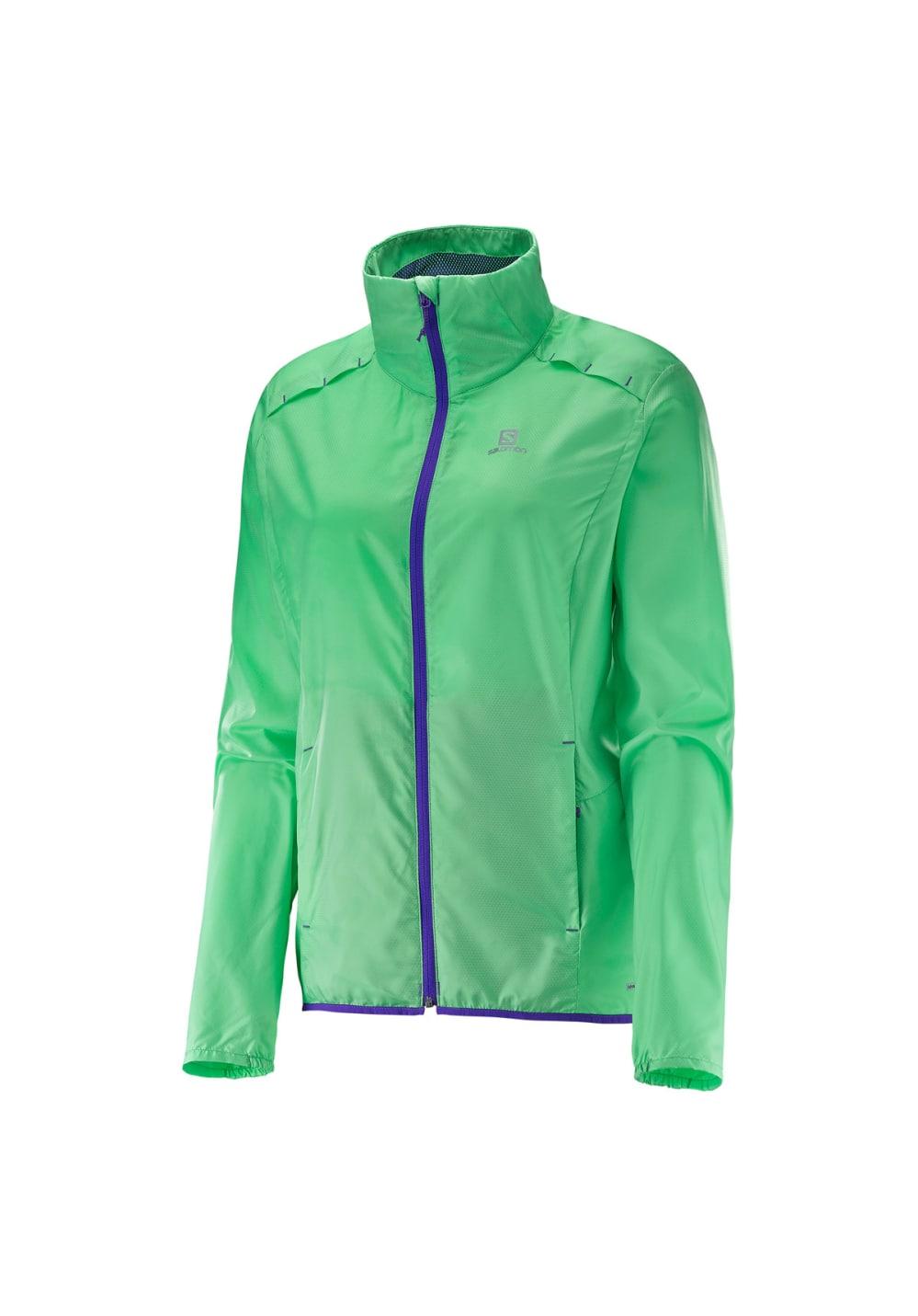 Salomon Agile Jacket - Laufjacken für Damen - Grün, Gr. XS