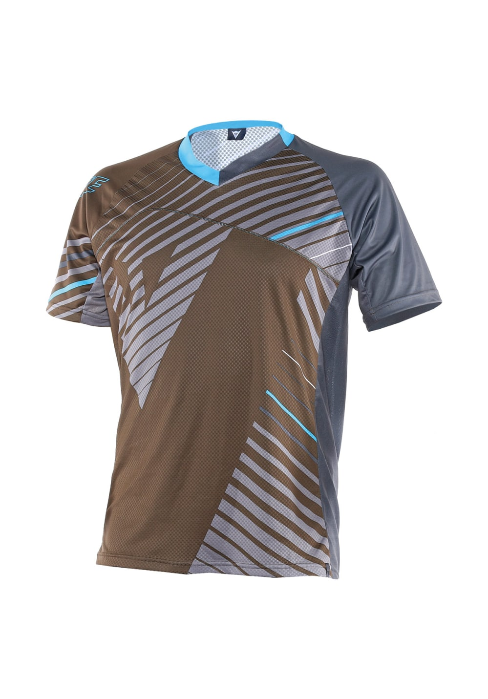 Dainese Flow Tech Jersesy Short Sleeve Radtrikots - Grau, Gr. L