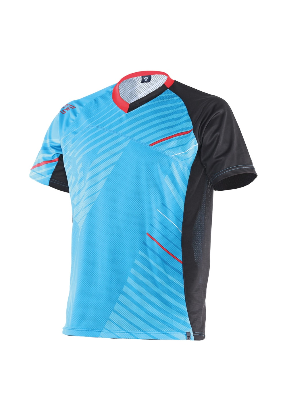 Dainese Flow Tech Jersesy Short Sleeve Radtrikots - Blau, Gr. L
