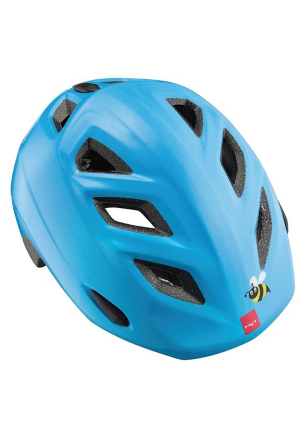 MET Elfo 46-53 cm Kids - Helme für Kinder Unisex - Blau