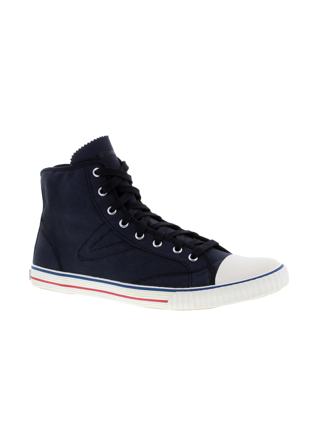 Tretorn Hockeyboot Canvas Sneaker - Blau