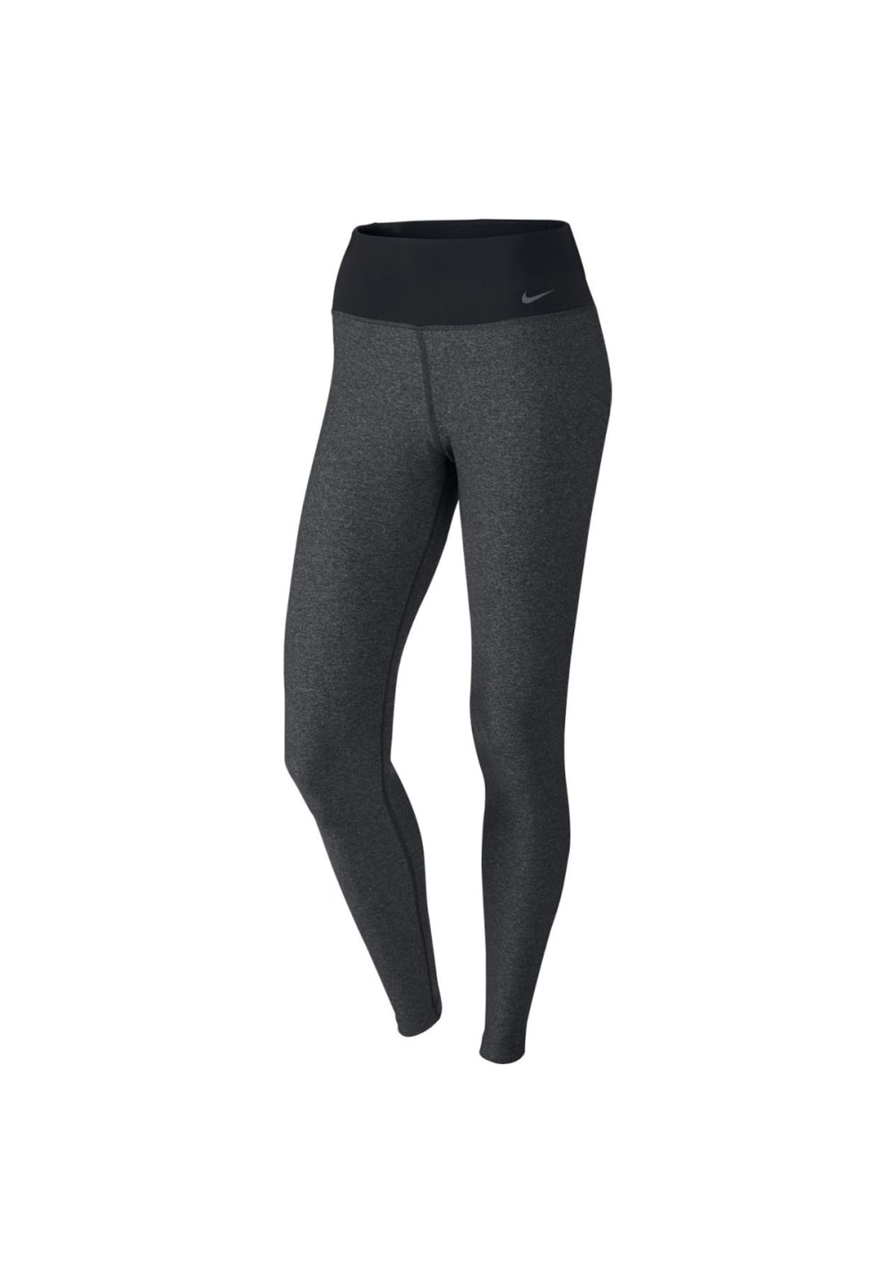 Image of Nike Legend 2.0 Tights Poly Laufhosen Damen 48-50 Dunkelgrau