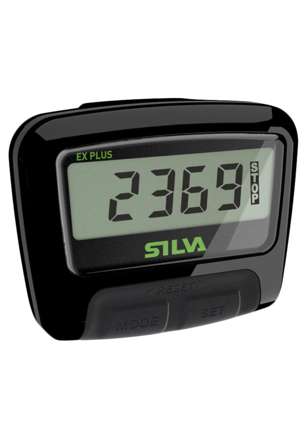 Silva PEDOMETER EX Plus Fitnessbänder - Schwarz, Gr. One Size