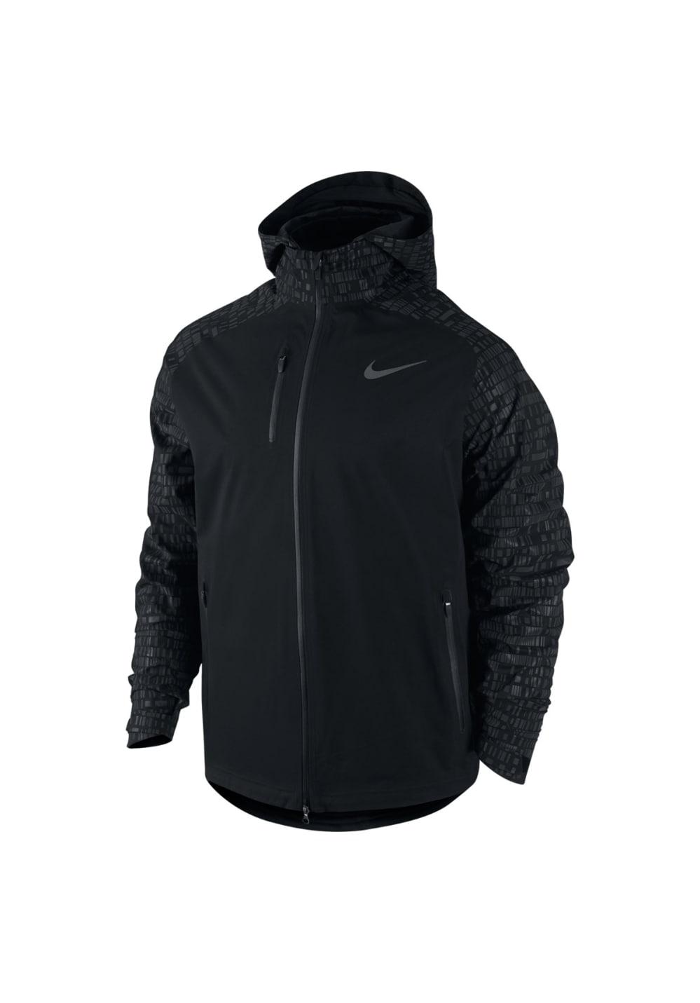 Running Jacket Homme Noir Vestes Nike Pour Course Hypershield Zw56nqT