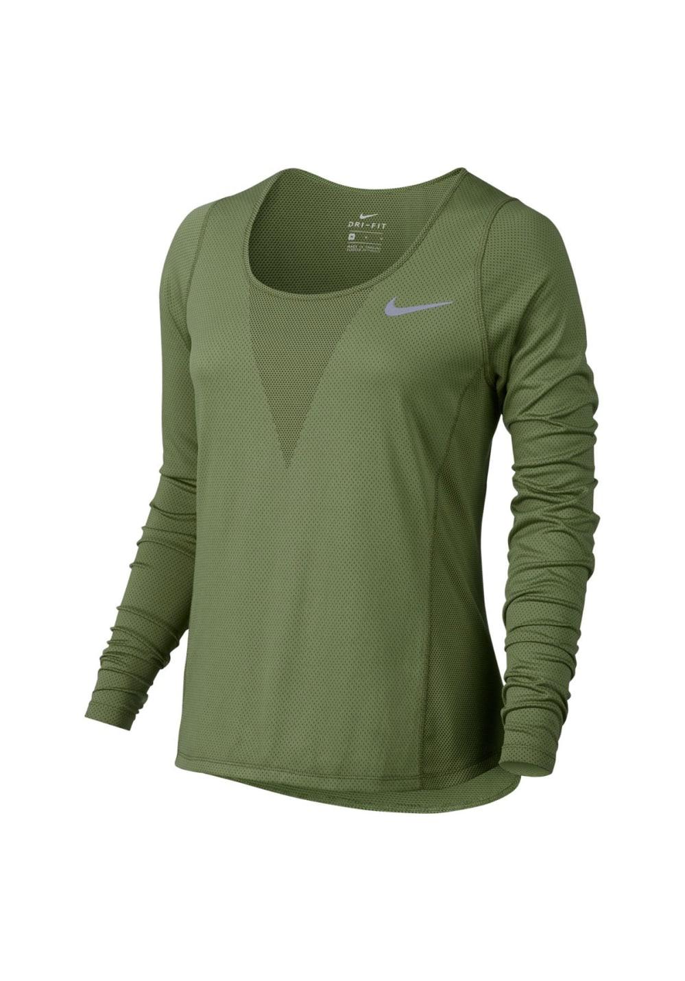 Camisetas Longsleeve Relay Nike Zonal Running De Cooling 1wRwFq6