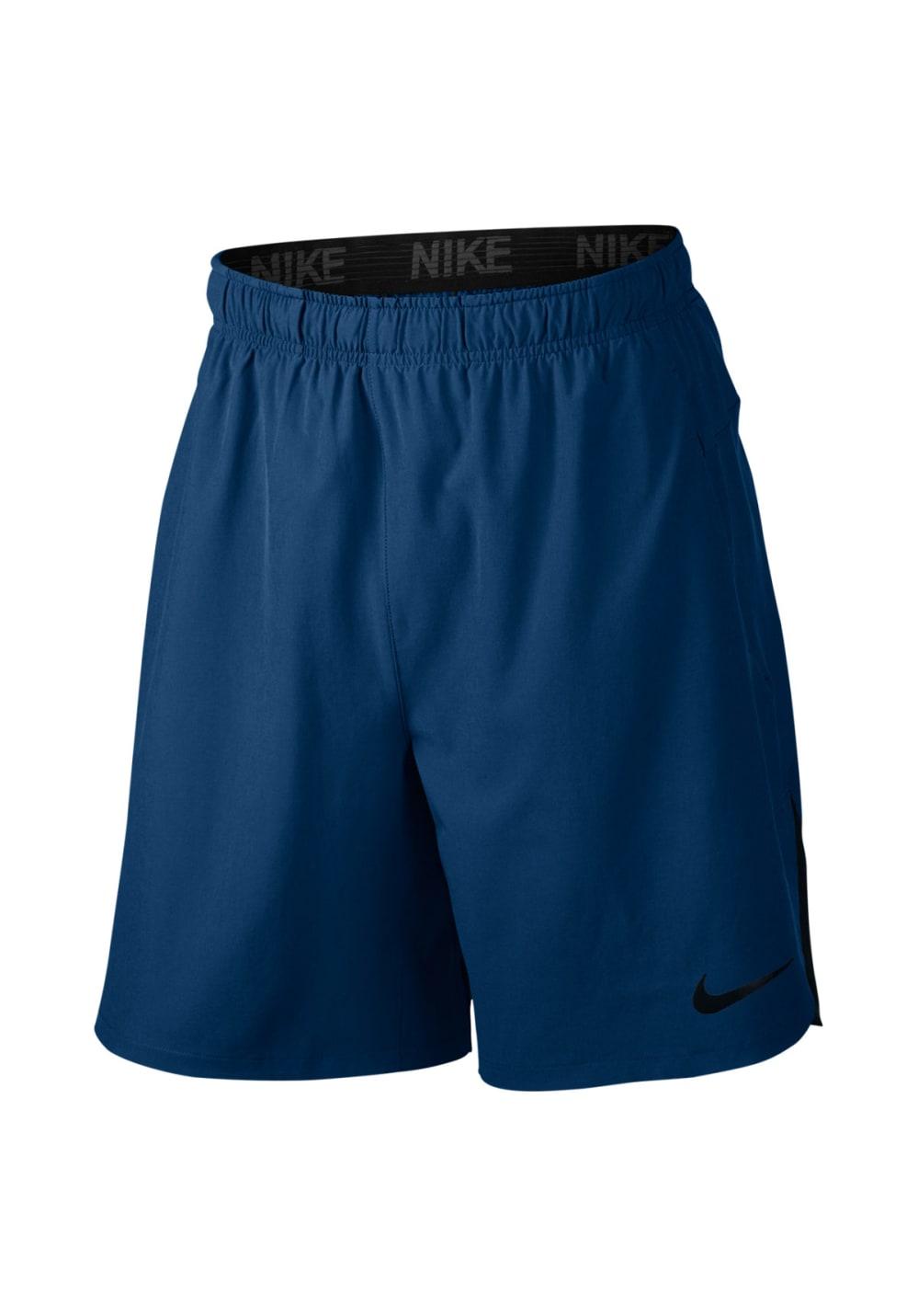 Flex Pour Nike Course Pantalons Bleu Homme Short Training 4L35jAR