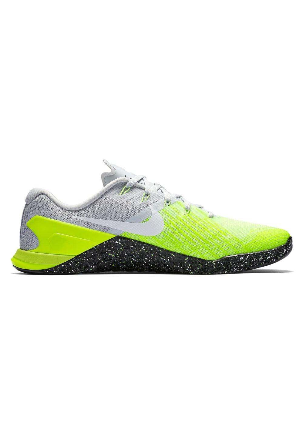 3 Para Hombre Metcon Zapatillas Gris Fitness Nike De BCthdxsQr