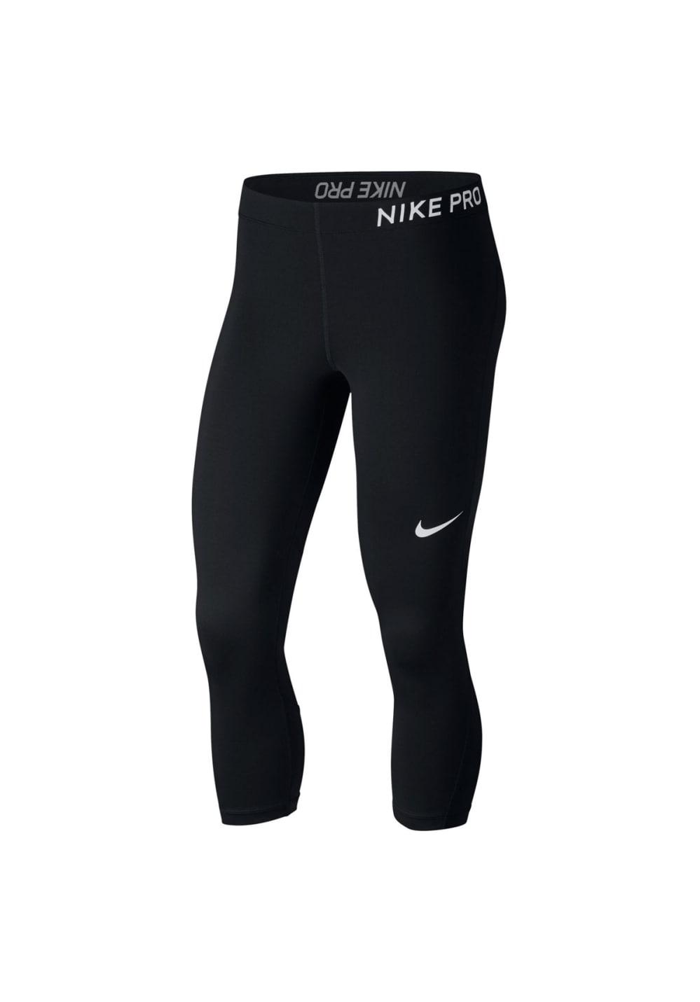 Nike Pro Capris - Fitnesshosen für Damen - Schwarz