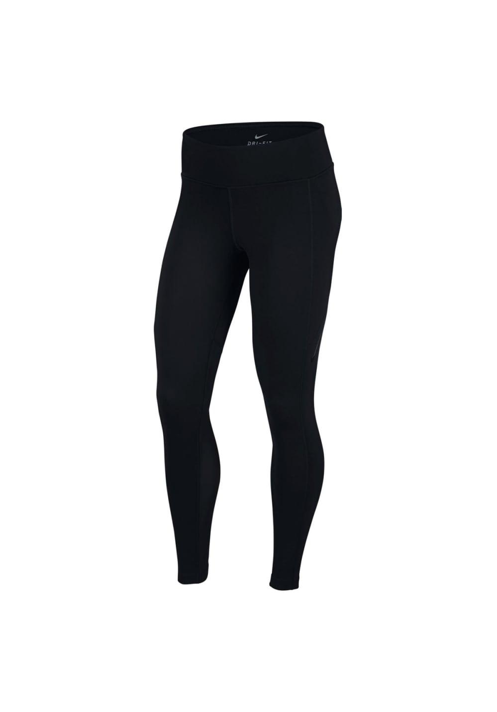 Nike Power Pocket Lux Tights - Fitnesshosen für Damen - Schwarz