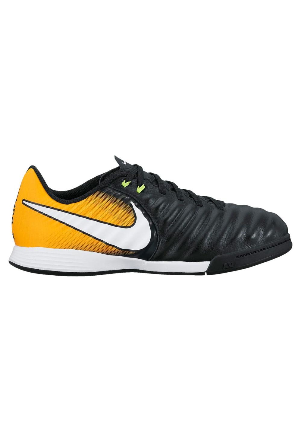 Nike Jr. TiempoX Ligera IV IC - Fußballschuhe für Kinder Unisex - Schwarz, Gr.
