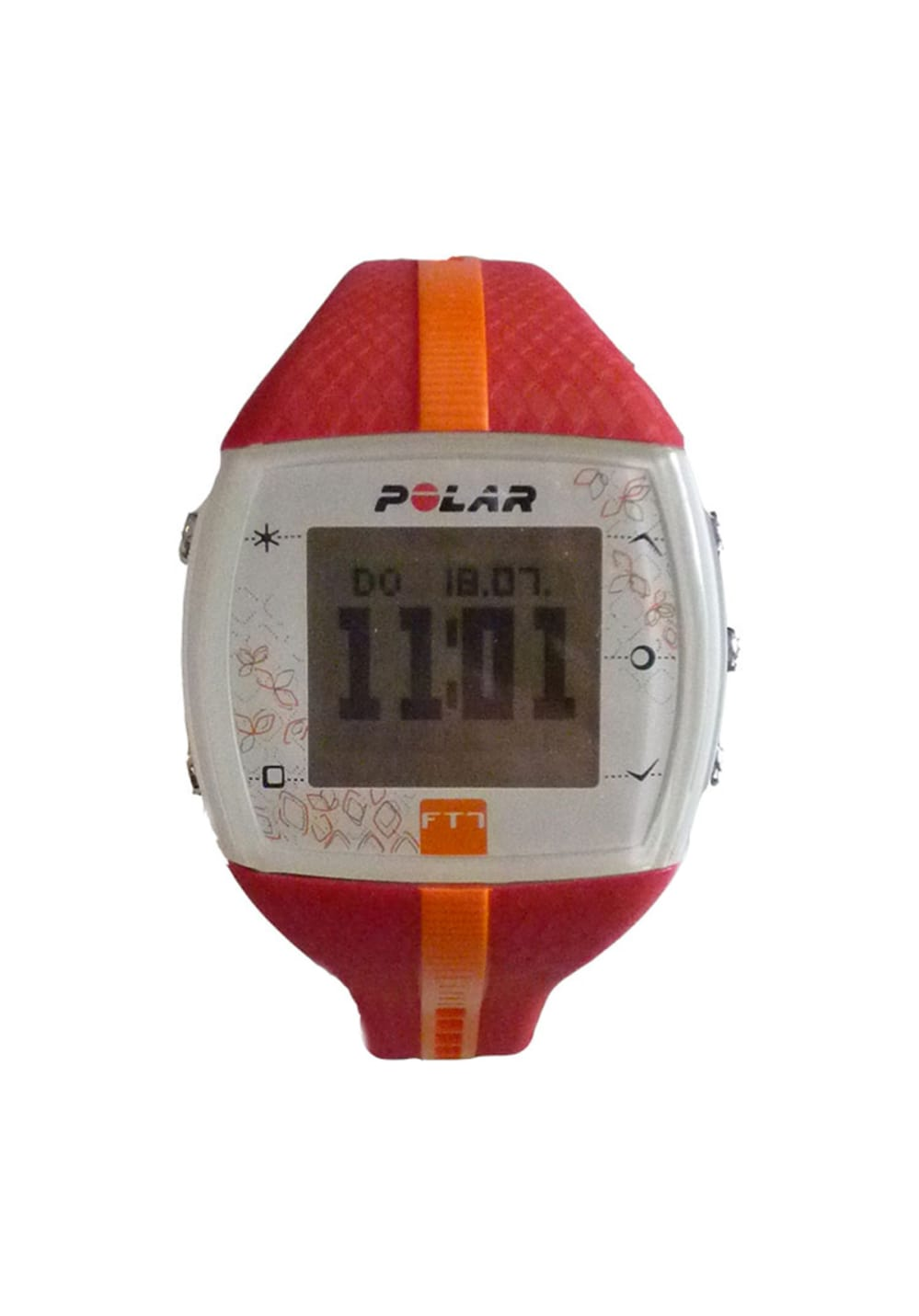 Polar FT7 Red Orange Herzfrequenzmesser Damen unisize, Gr. unisize