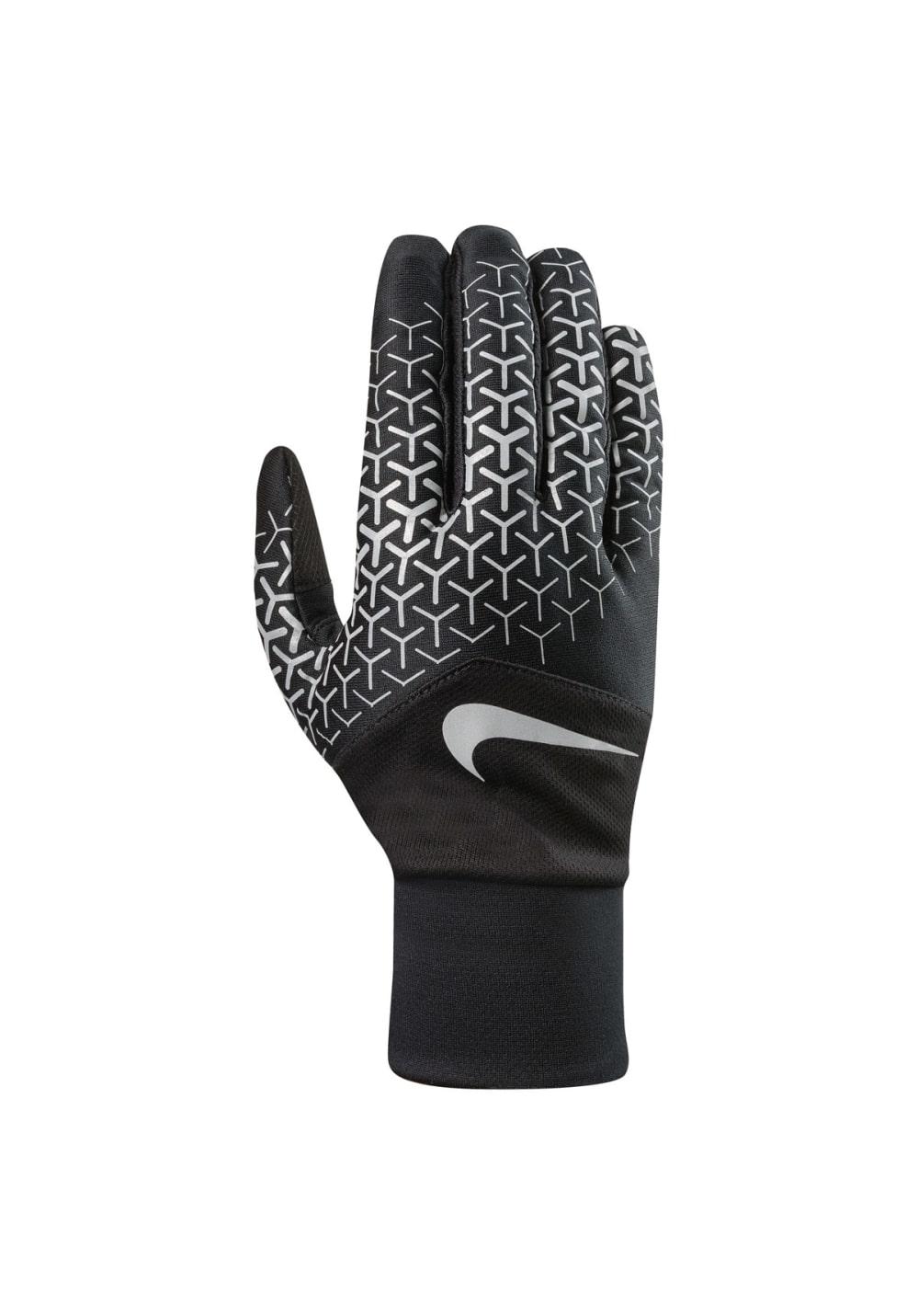 Nike Printed Dri-Fit Tempo 360 Run Gloves - Laufhandschuhe für Damen - Schwarz,