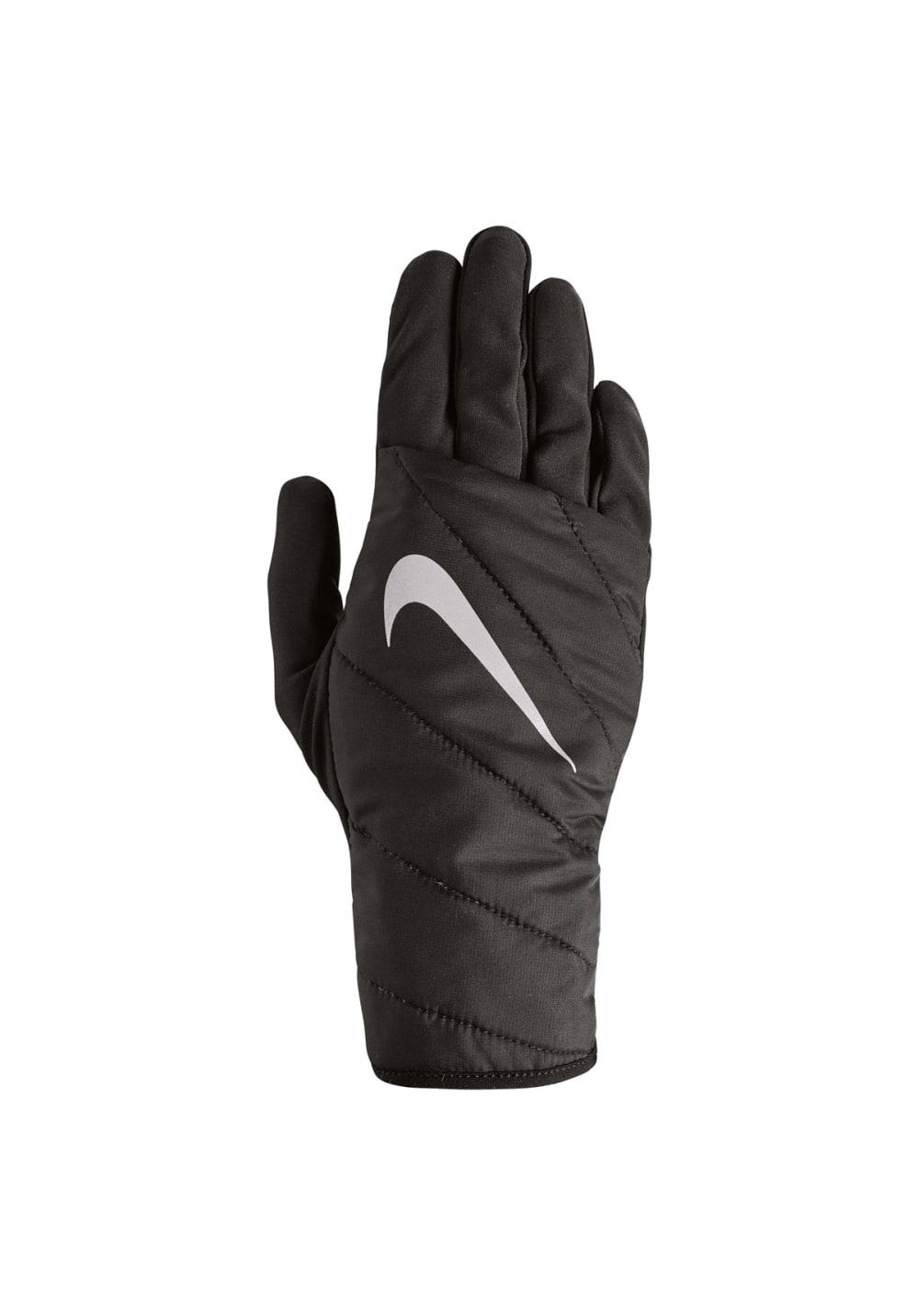 Nike Quilted Run Gloves - Laufhandschuhe für Damen - Schwarz, Gr. XS