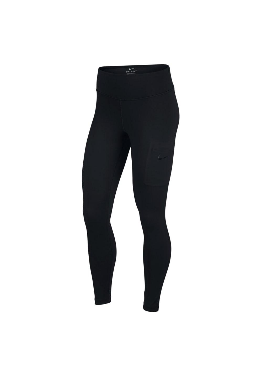 Nike Power Training Tights - Fitnesshosen für Damen - Schwarz