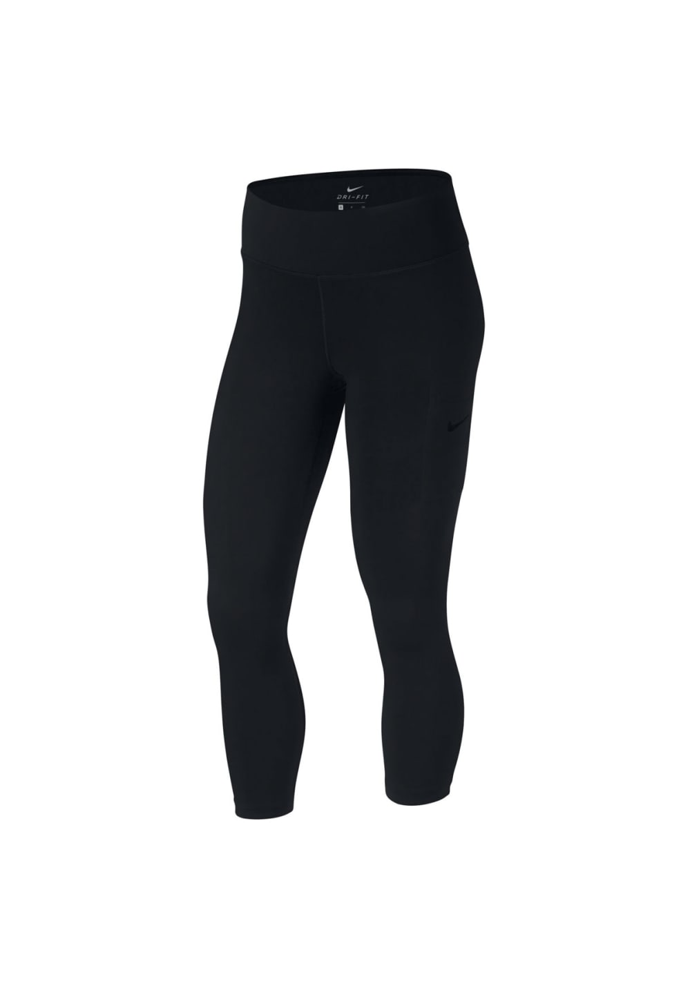 Nike Power Training Crop - Fitnesshosen für Damen - Schwarz