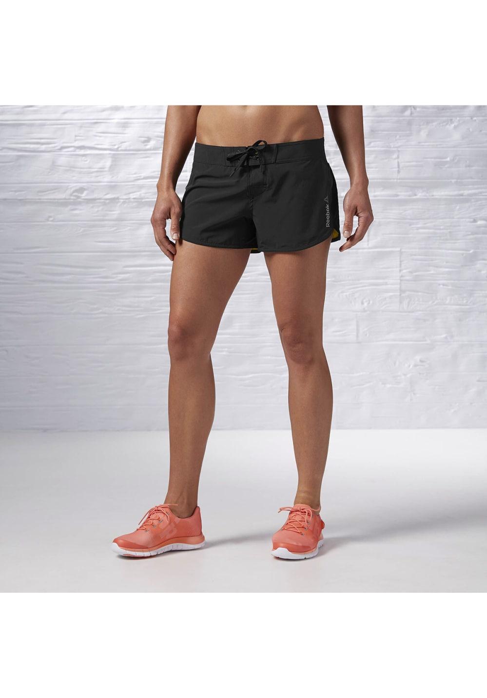 Reebok One Series Cordura One Short - Fitnesshosen für Damen - Schwarz, Gr. L