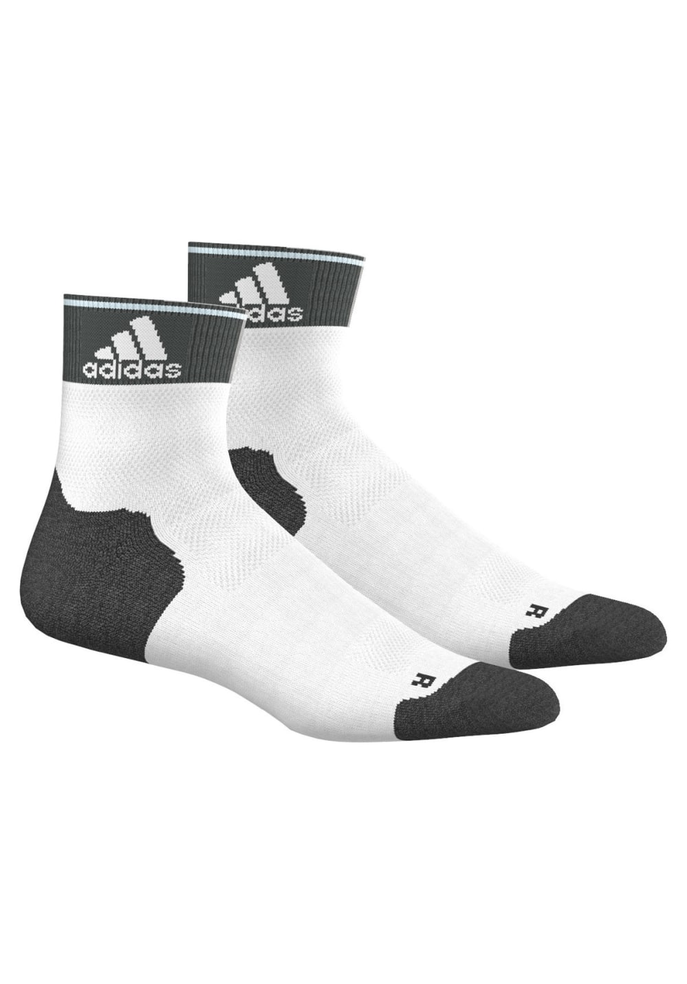 adidas Run Energy Ankle Tc 2P Laufsocken - Weiß, Gr. 37-39
