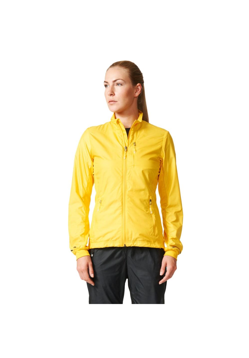 Course W Fast Jacket Pour Vestes Femme Jaune Adidas fr Xperior v8Onyw0mN