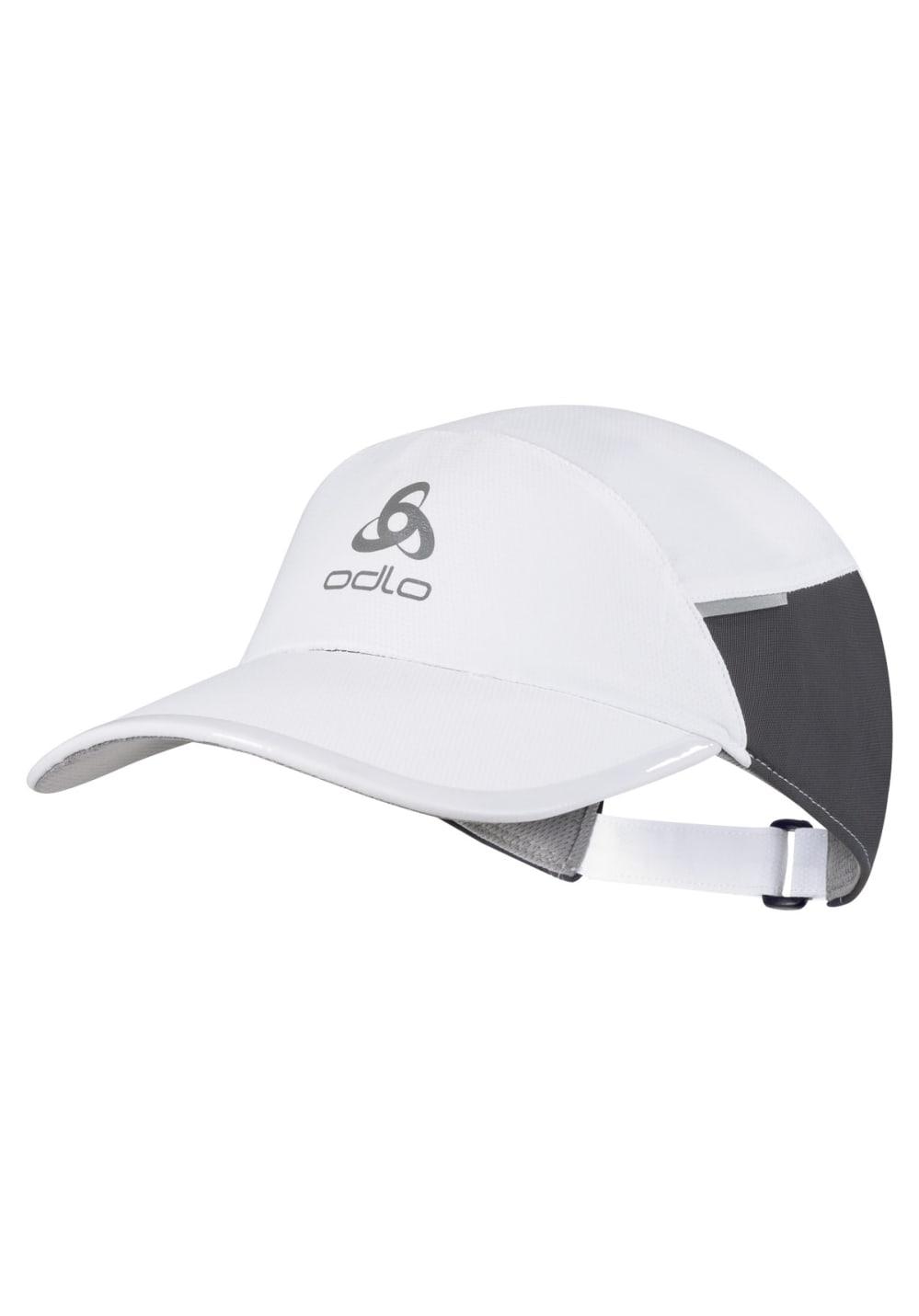 Odlo Cap Fast & Light Kopfbedeckung - Weiß, Gr. L/XL