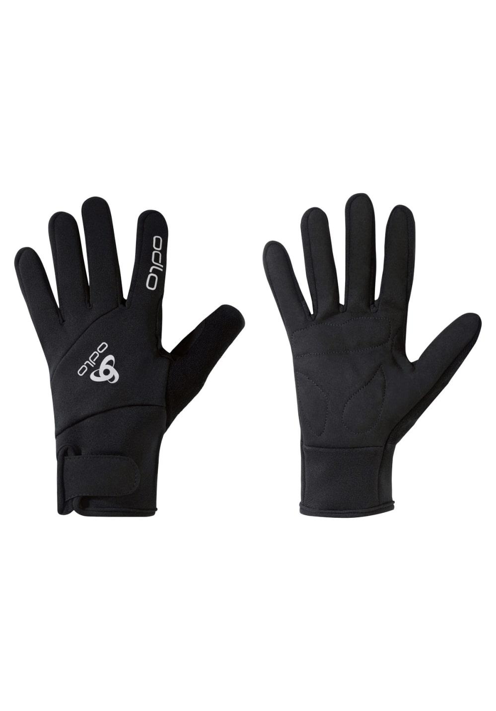 Odlo Gloves Nordic Active Laufhandschuhe - Schwarz, Gr. XXS