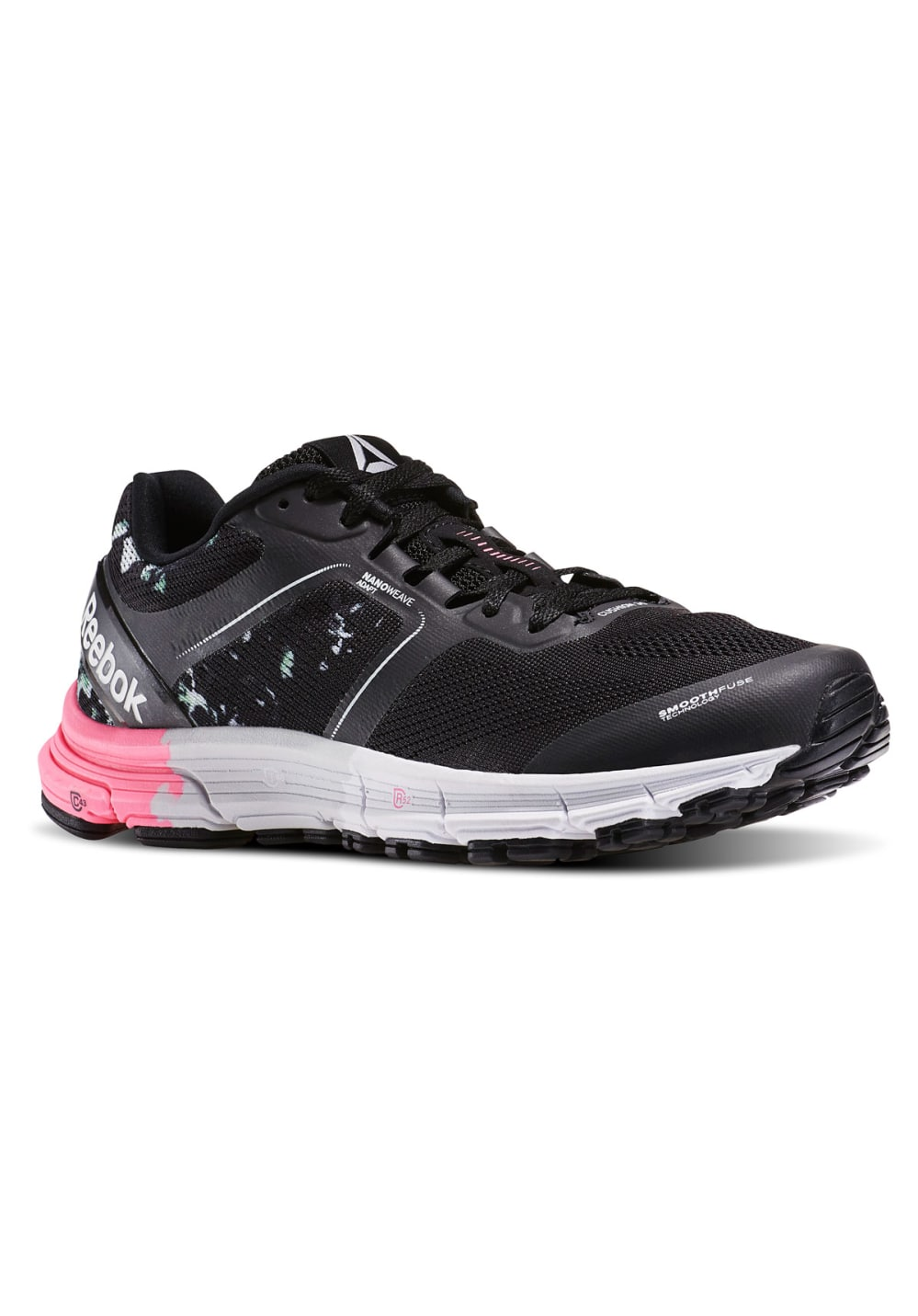One Fitness Femme Reebok Cushion Pour Chaussures Noir mN80vnw