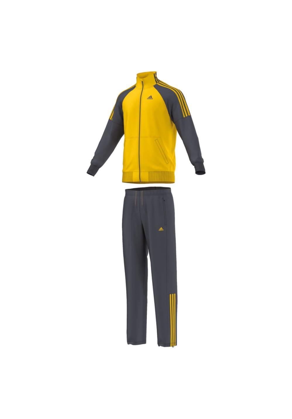 Trainingsanzüge Für Herren Tracksuit Grau Adidas Riberio 4q3j5ARL
