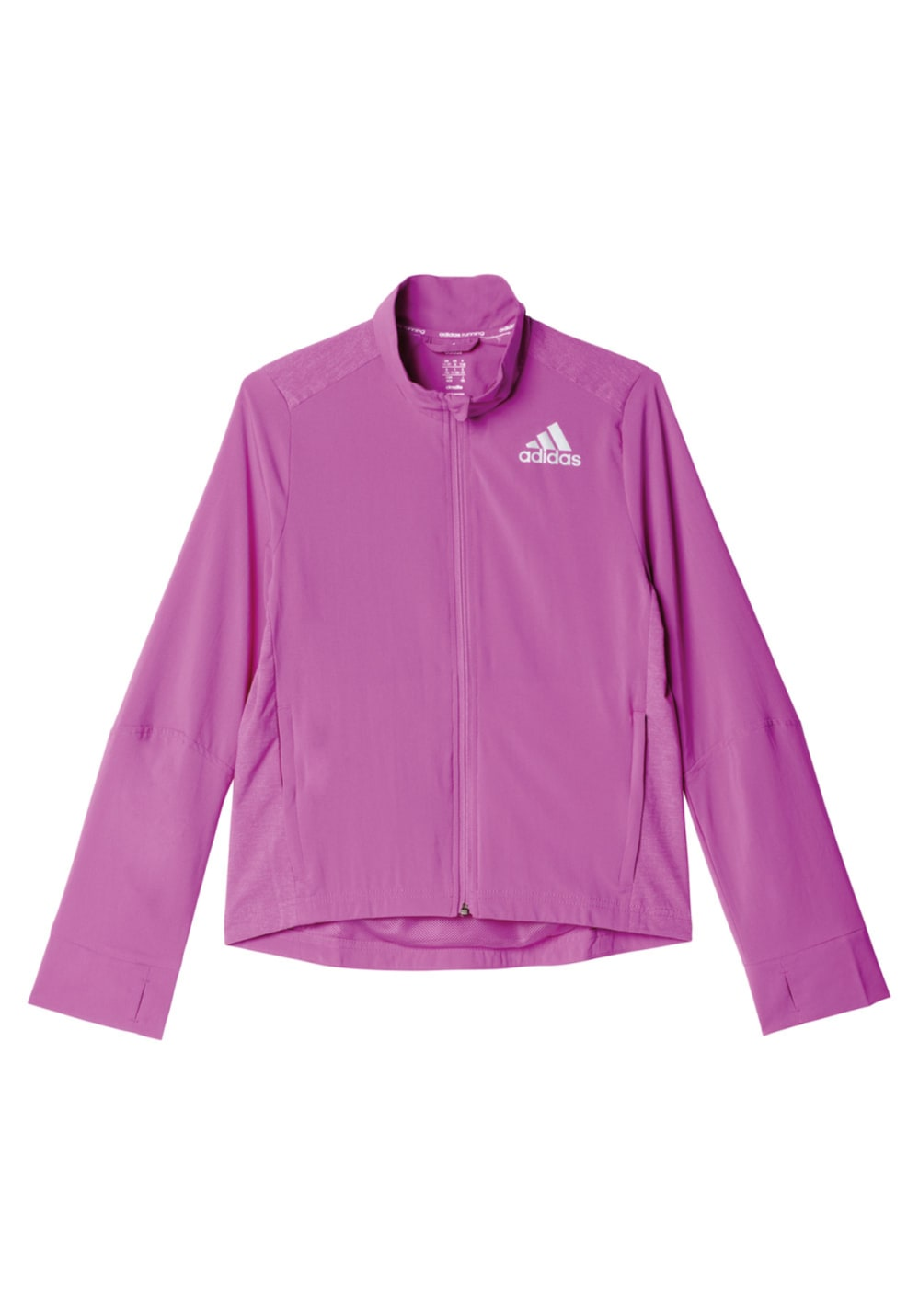 adidas Running Girls Wind Breaker - Laufjacken für Mädchen - Lila
