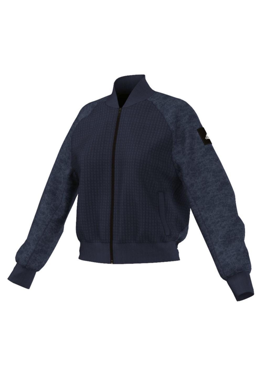 Jacket Sudaderas Bomber Moonwash Para Mujer Negro Adidas I7gfyYbv6