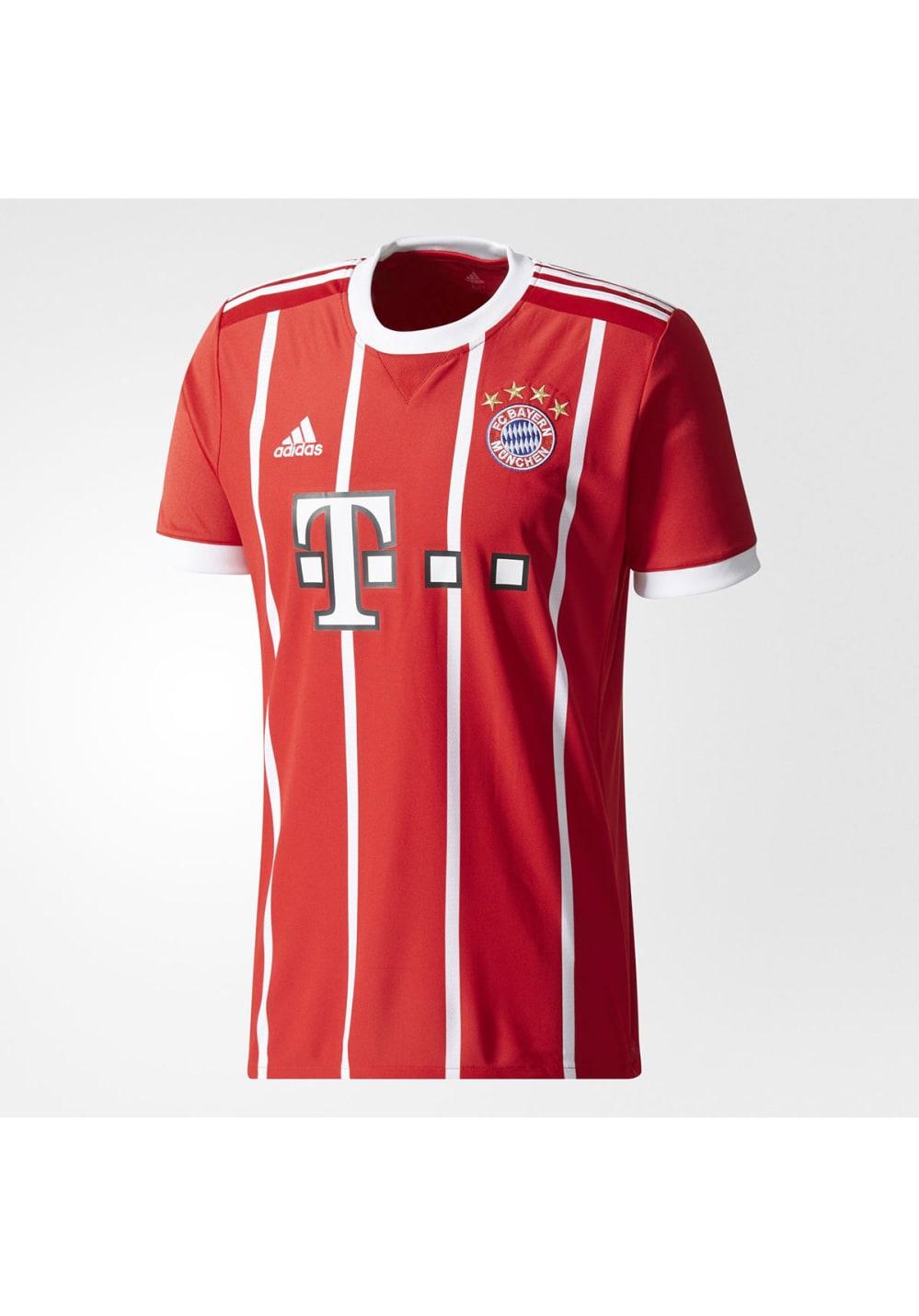 adidas FC Bayern Munich Home Replica Jersey - Fußballbekleidung für Herren - Rot