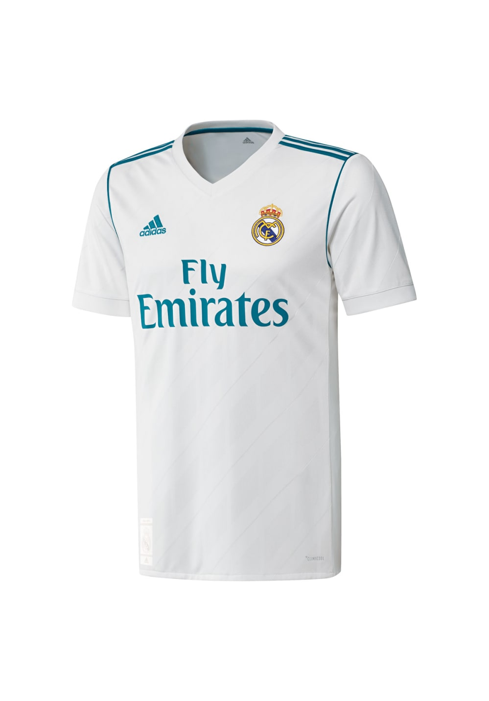 adidas Real Madrid Home Replica Jersey - T-Shirts für Herren - Weiß, Gr. XL