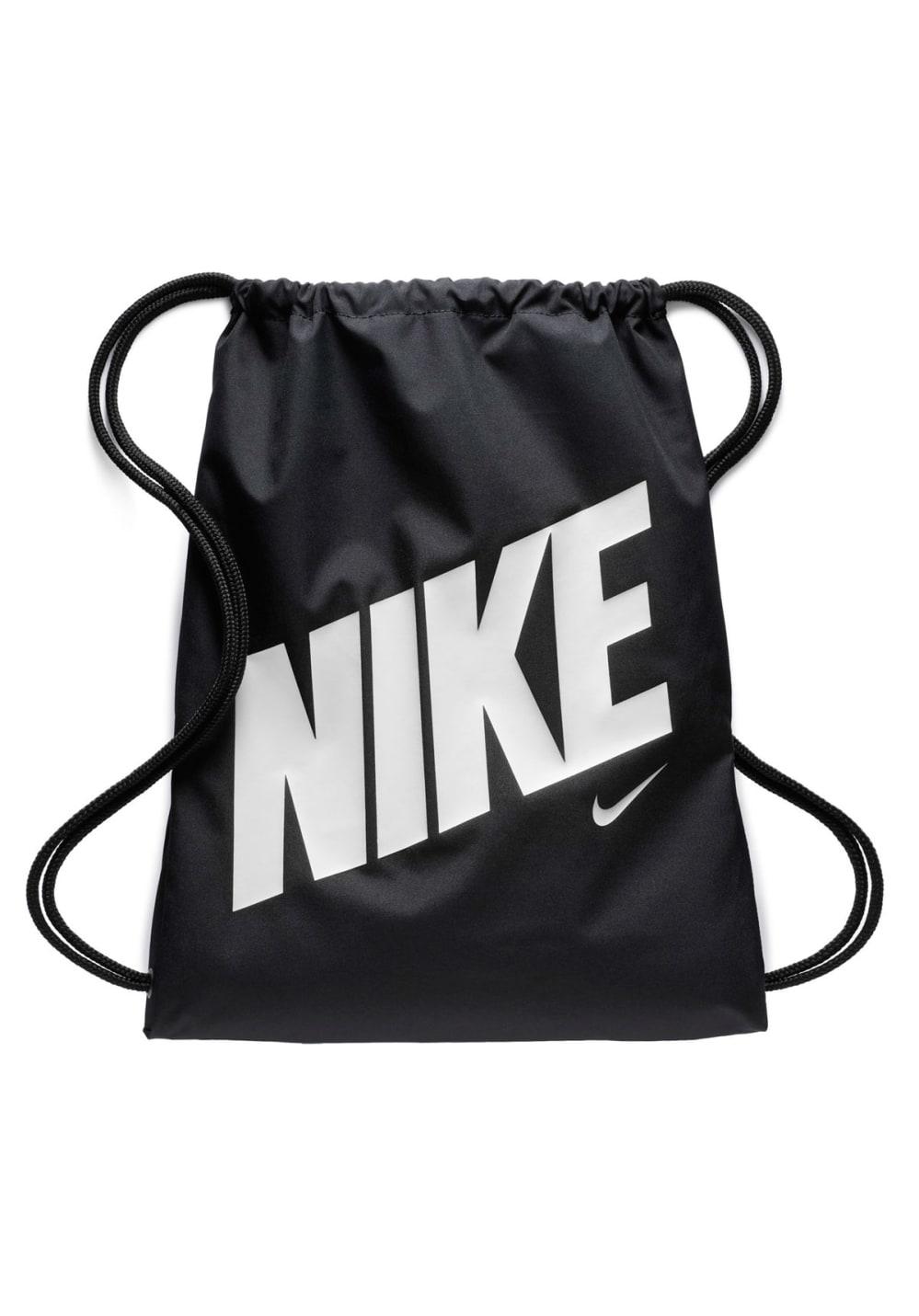 Sporttaschen für Frauen - Nike Kids Graphic Gym Sack Sporttaschen für Kinder Unisex Schwarz  - Onlineshop 21Run