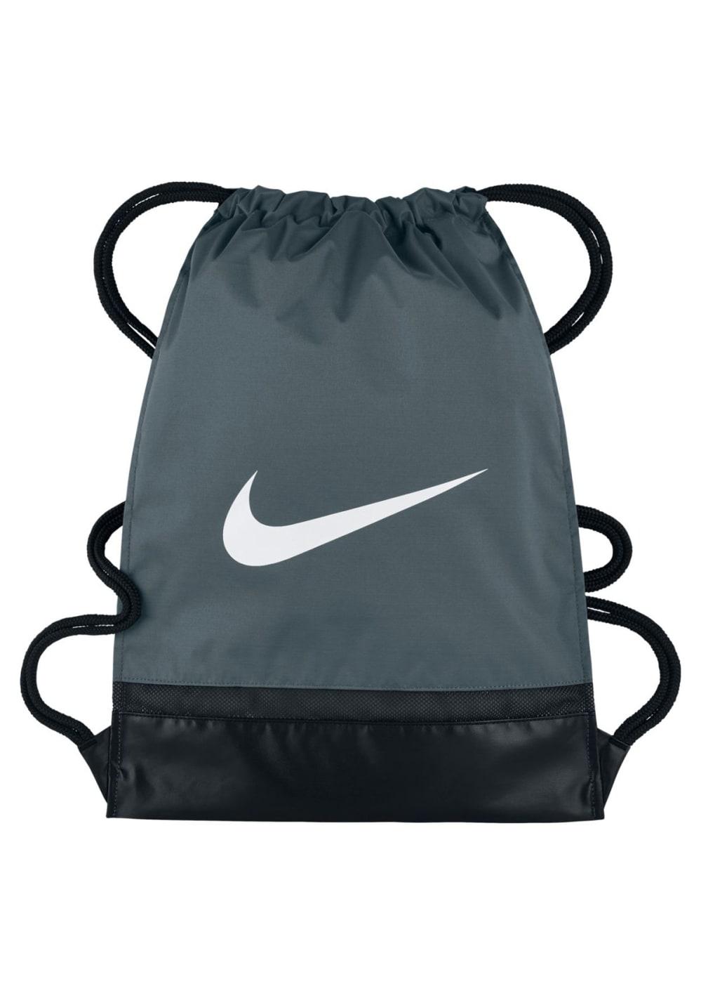 Sporttaschen für Frauen - Nike Brasilia Gym Sack Sporttaschen Grau  - Onlineshop 21Run