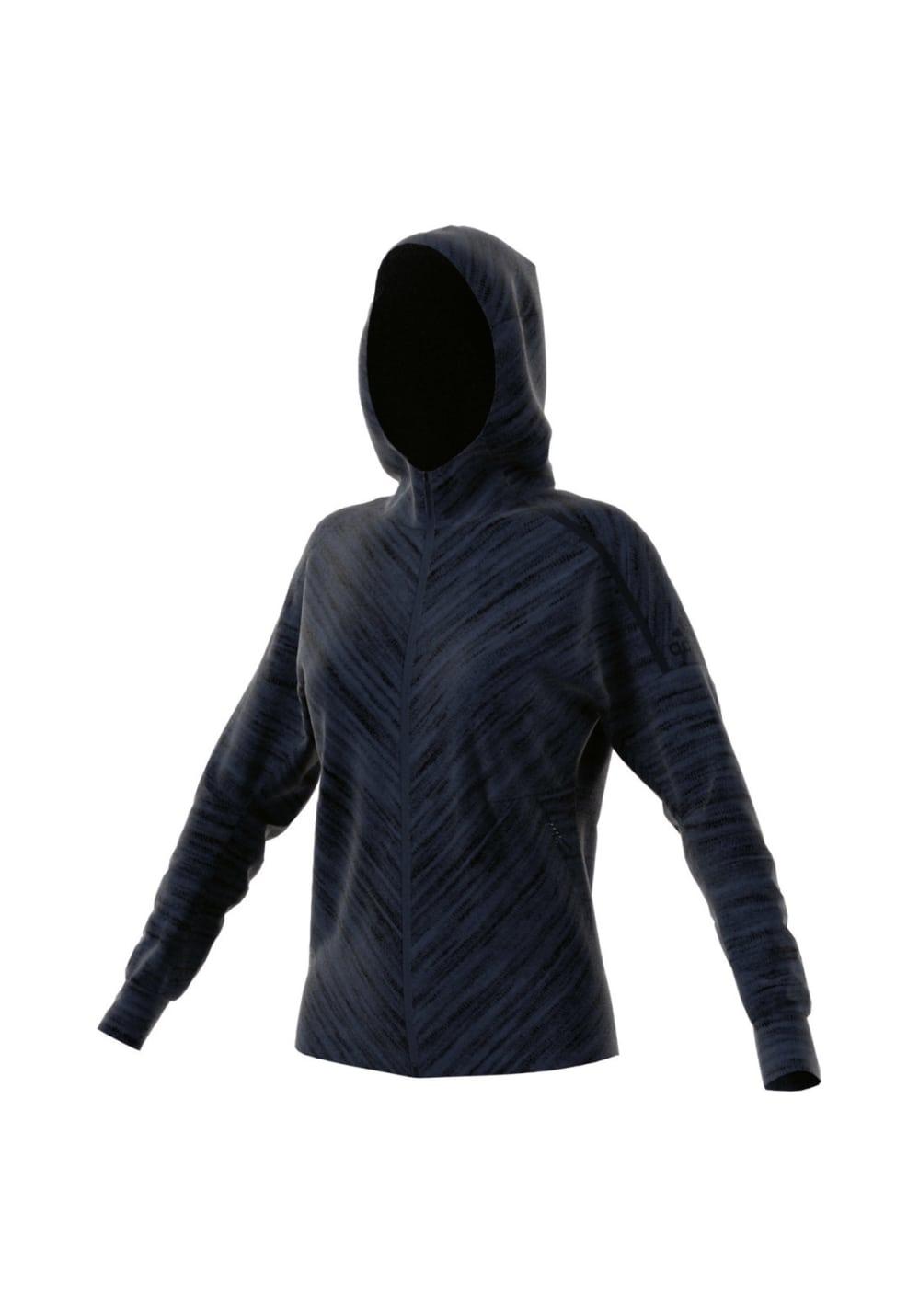 adidas ZNE Roadtr Hood - Sweatshirts & Hoodies für Damen - Blau, Gr. XS