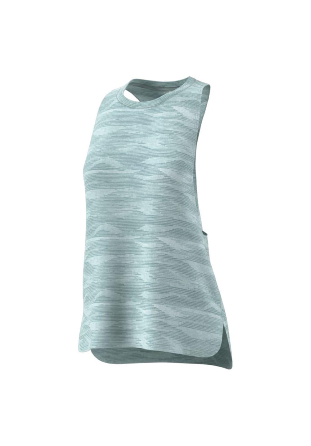 adidas Boxy Tank Aeroknit - Fitnessshirts für D...