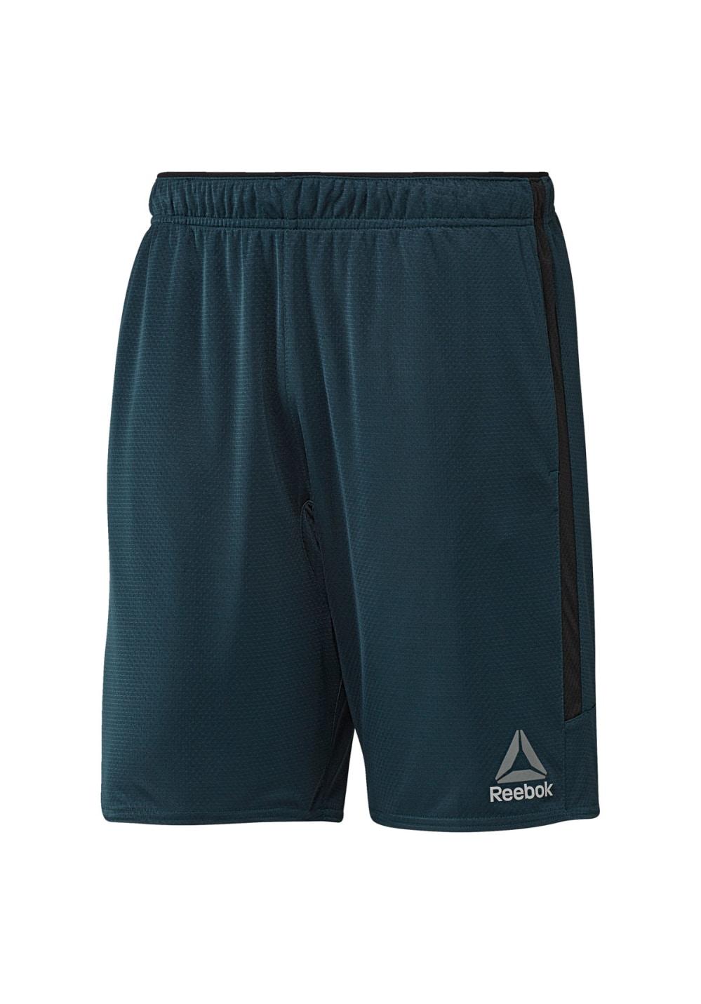 Reebok Work N Short - Fitnesshosen für Herren - Blau, Gr. S