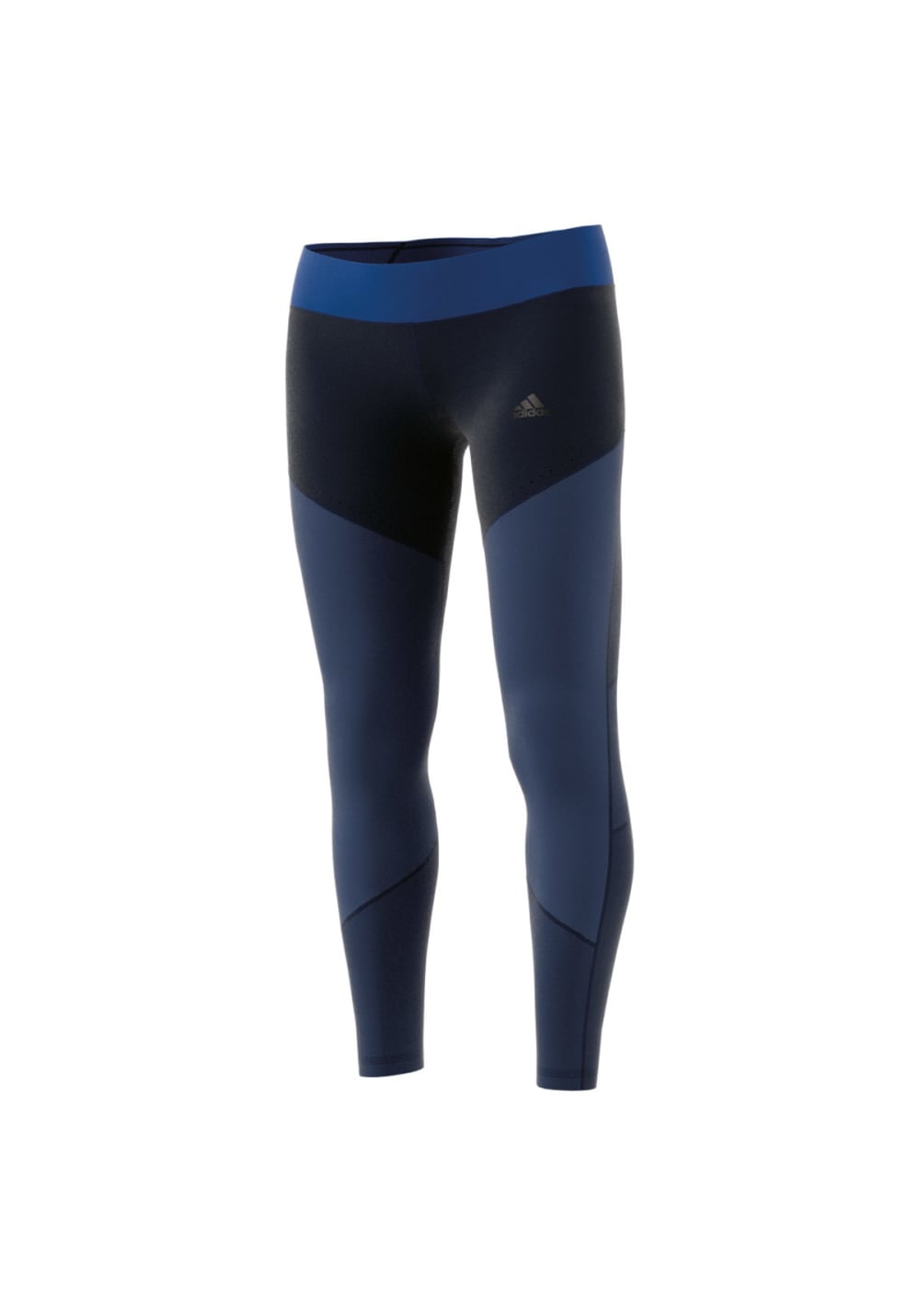adidas Wow Drop 1 Tight - Laufhosen für Damen - Blau, Gr. L