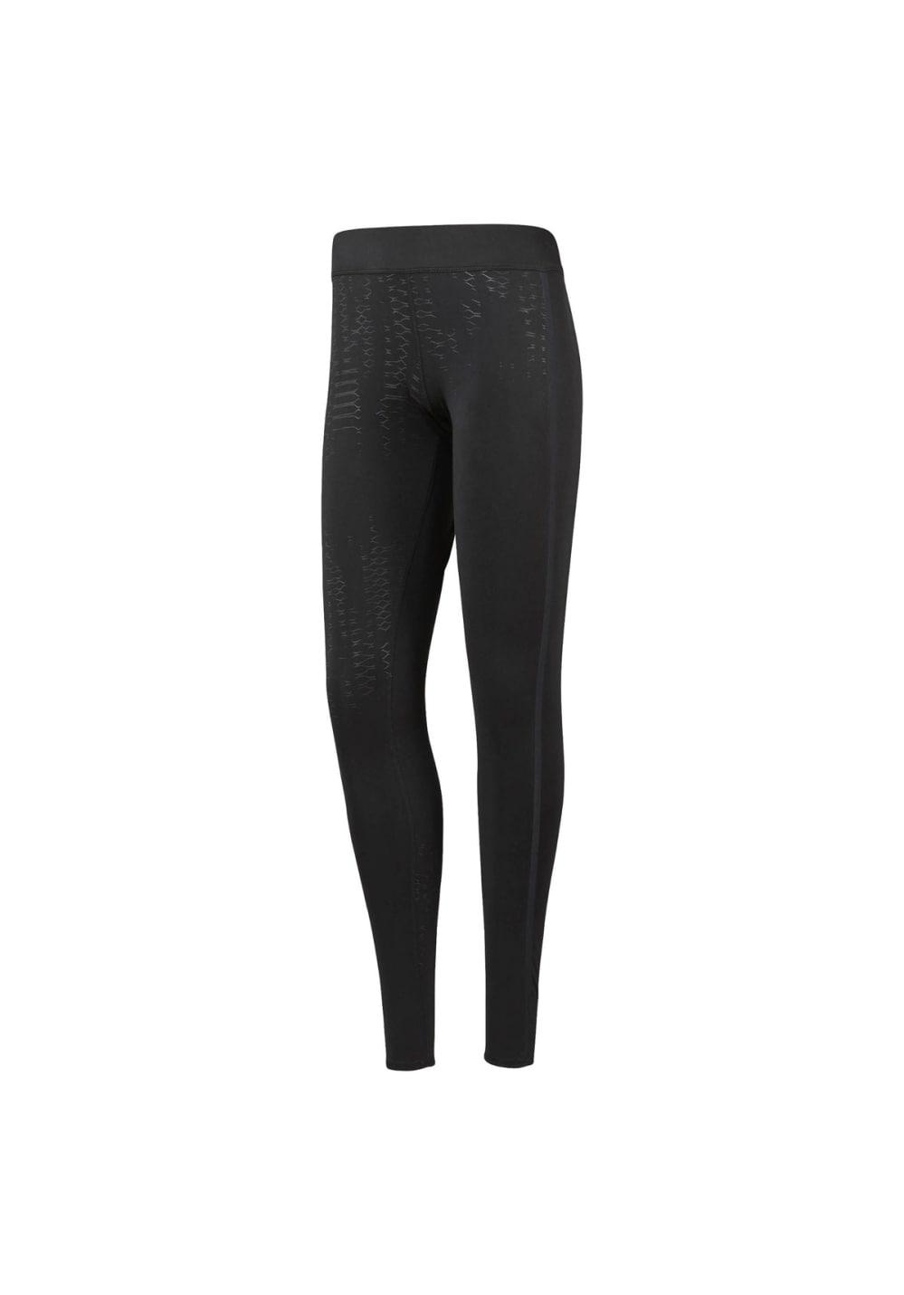 Reebok Crossfit Tight - Textured - Fitnesshosen für Damen - Schwarz, Gr. L