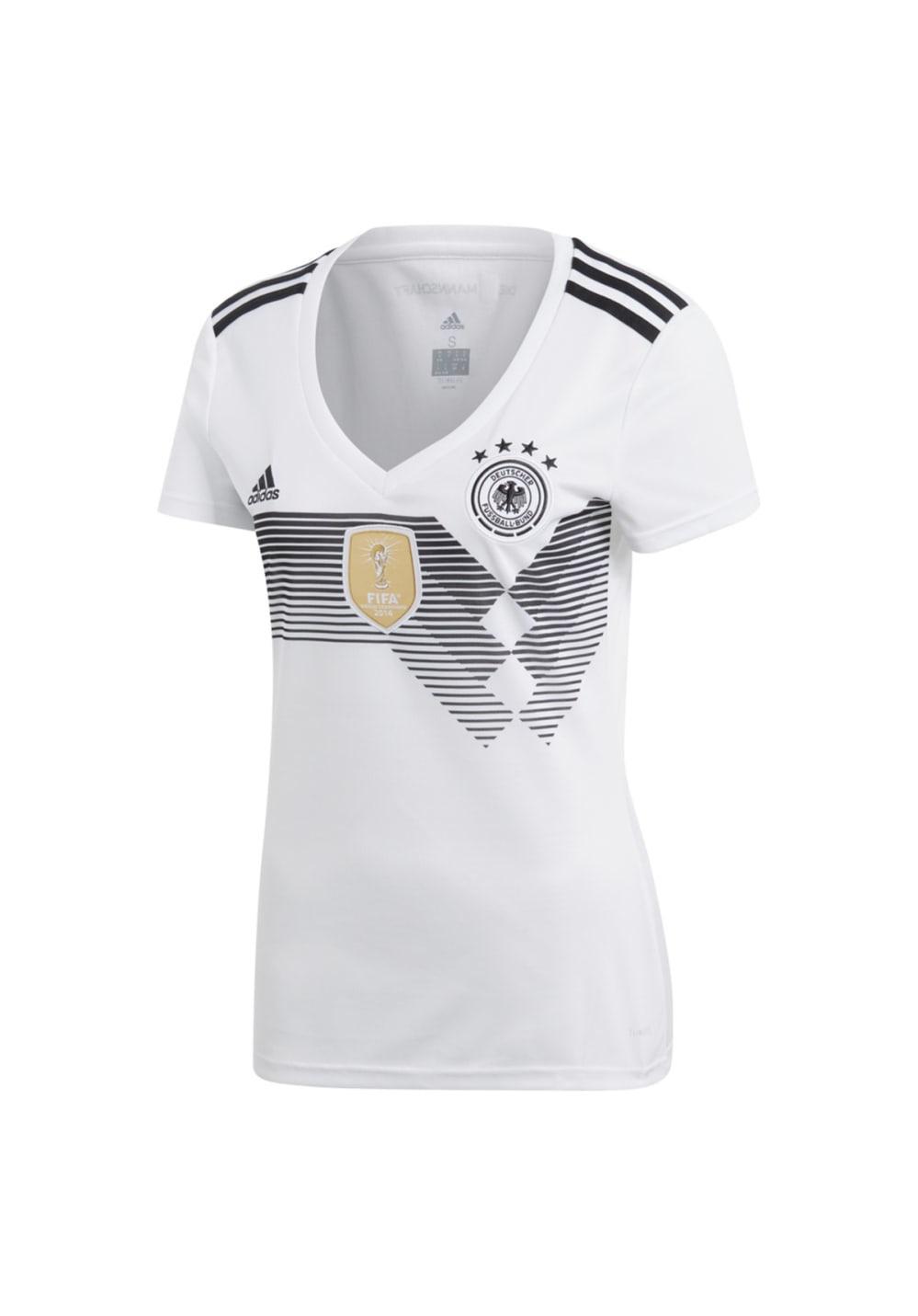 adidas 2018 Germany Home Jersey Women - Fußballbekleidung für Damen - Weiß