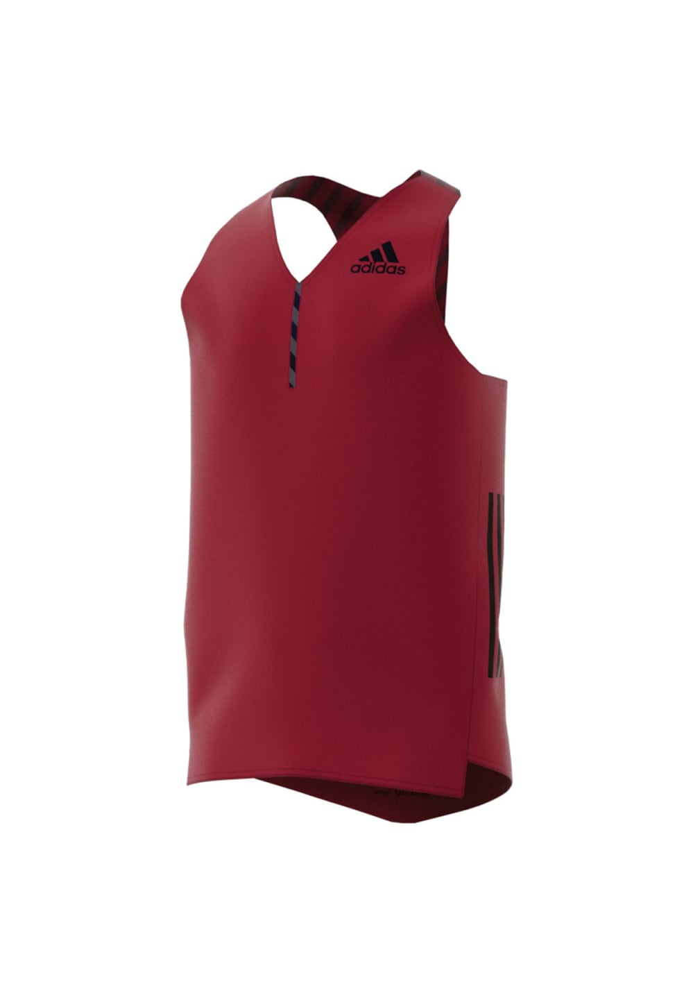 adidas adizero Singlet - Laufshirts für Herren - Rot, Gr. L