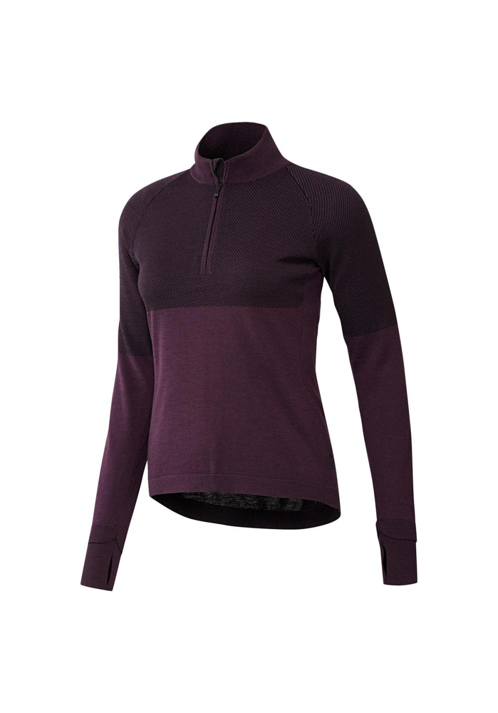 adidas Climaheat Primeknit Jacket - Sweatshirts & Hoodies für Damen - Lila, Gr.