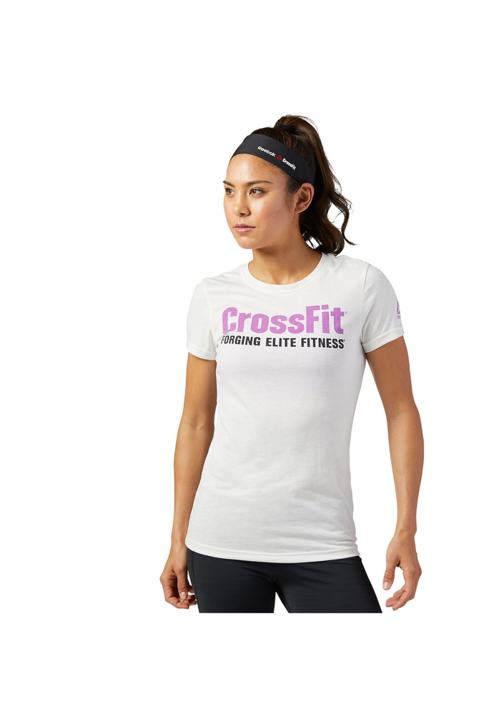 Reebok Fef Speedwick New Shirt Short Sleeve - Fitnessshirts für Damen - Weiß,
