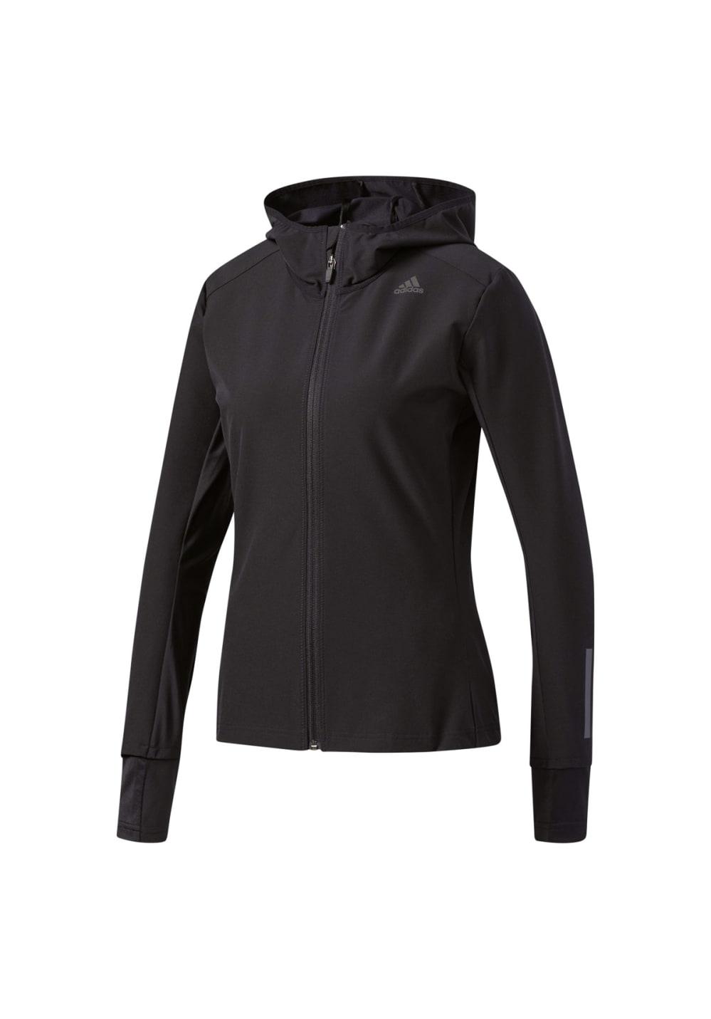 Response Course Femme Noir Pour Shell Jacket Soft Vestes Adidas Ybyvf76g