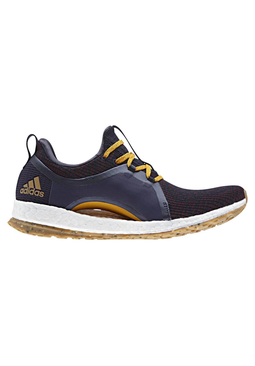 Sportschuhe für Frauen - adidas PureBOOST X ATR Laufschuhe für Damen Schwarz  - Onlineshop 21Run