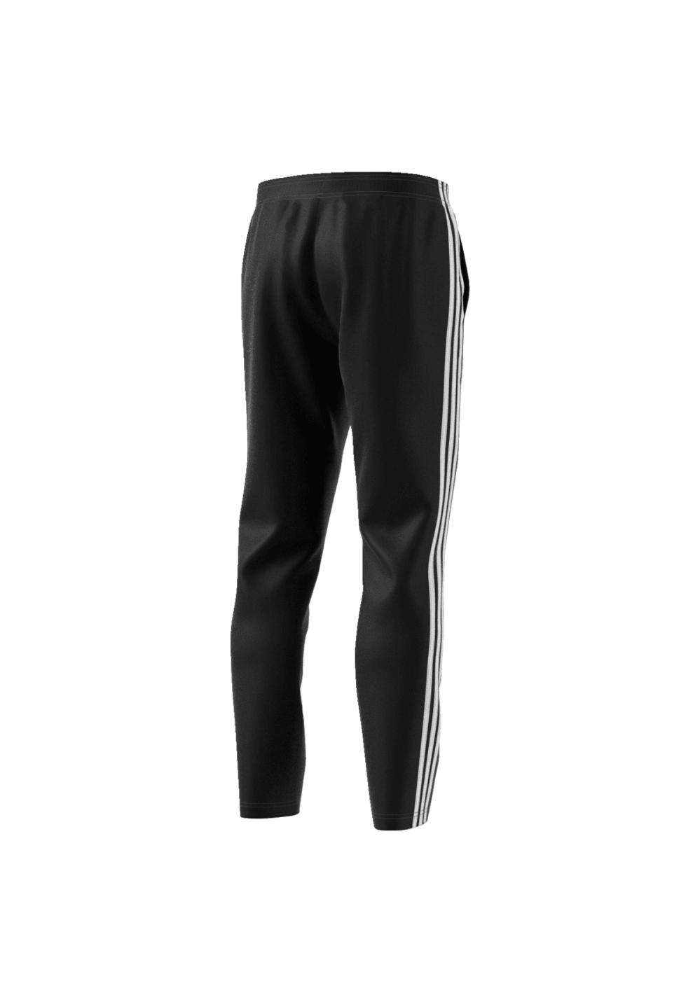 3 Schwarz Herren Laufhosen Pants Für Adidas Essentials Stripes L5q34ARj