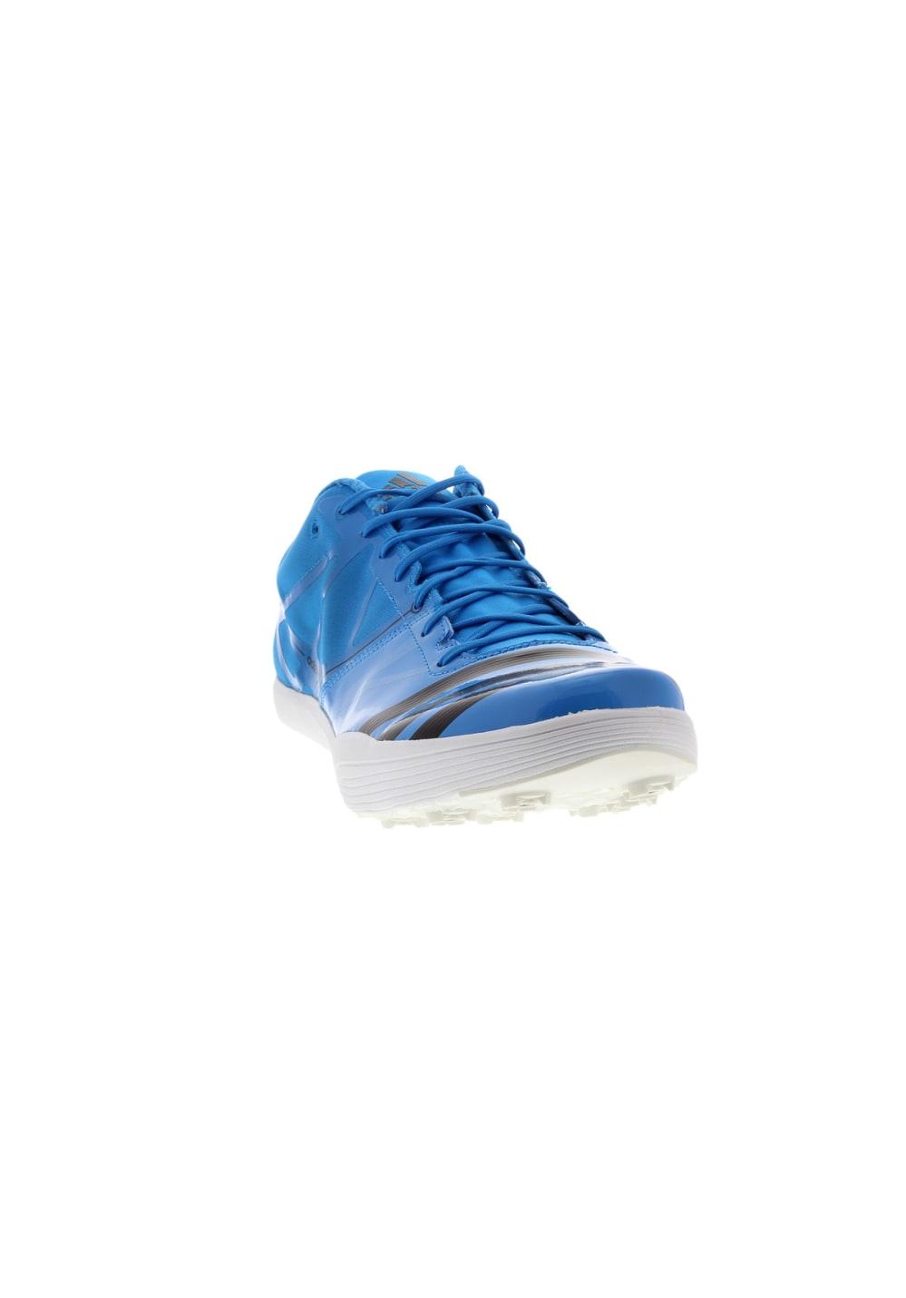 Bleu Adidas 2 Pointes Chaussures Lj Adizero 1uFKclJT3