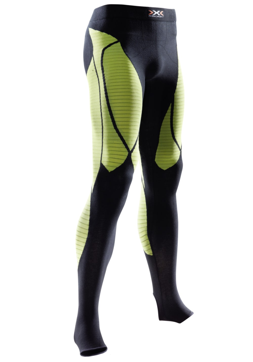 X-Bionic Precuperation / Recovery Long Tight - Kompression für Herren - Schwarz